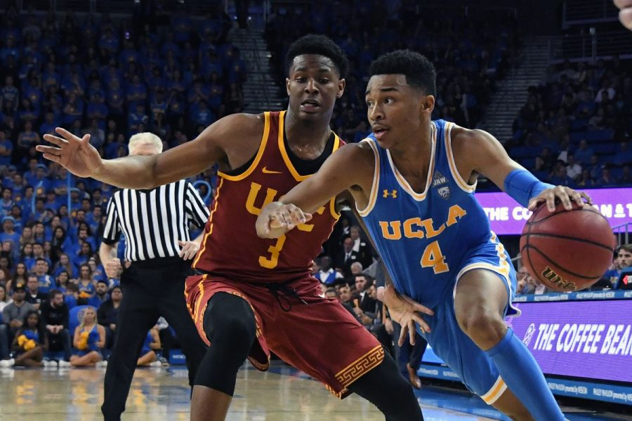 New law would give athletes from schools such as  UCLA and USC the ability to make money from their figure. Photo courtesy: Bruinsnation.com