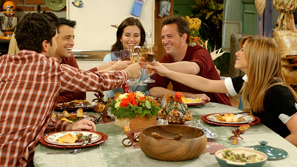 One of the first time a Friendsgiving was actually shown was on the show Friends, helping popularize the idea of Thanksgiving with your friend group. Photo courtesy of: Bustle