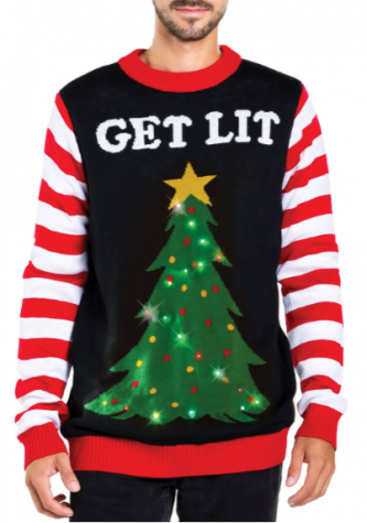 An example of an Ugly Christmas sweater. Photo courtesy of: Tipsy Elves