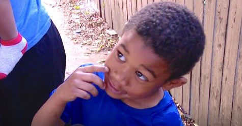Boy, 5, saves family of 13 from fire
