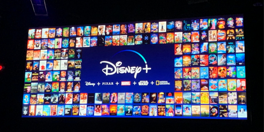 Showcasing The Product: The picture unveiled the different movies and shows available exclusively at Disney+. Photo courtesy of: The Drum