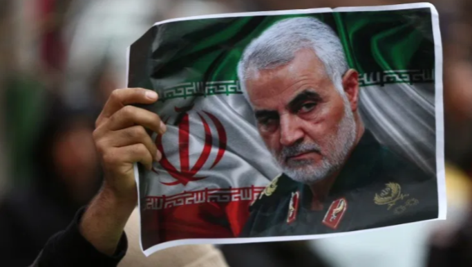 Iranians rallying behind their government after the killing of general Qasem Soleimani. Photo courtesy of: Wiki Commons