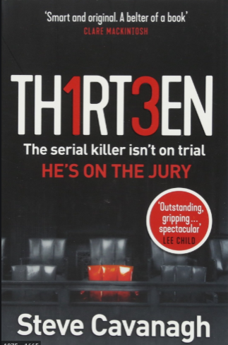 "Thirteen's cover shows the jury seats of the ""Trial of the Century."" Photo courtesy of: Amazon"