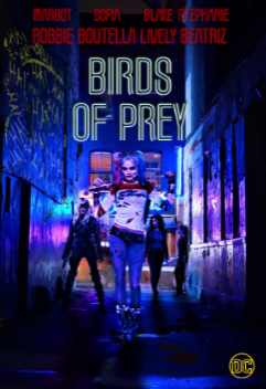 Birds of Prey's promotional poster. Photo courtesy of: Tumblr