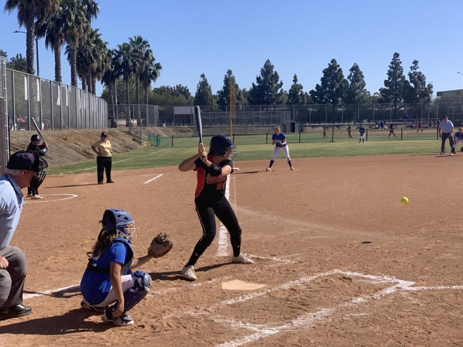 Final game of the 2018-2019 season the Lady Jags shutout Western 13-0. Photo courtesy of: Segerstrom Athletics