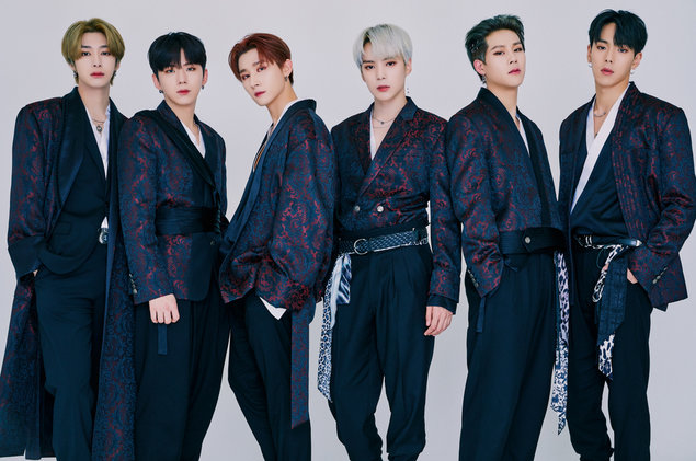 "Monsta X concept photo for their released song, ""MIDDLE OF THE NIGHT''. Photo courtesy of: Billboard"