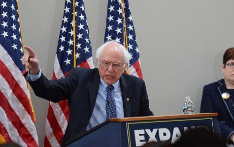 Bernie Sanders, a Democratic Candidate