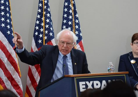 Bernie Sanders, back in 2019 at an event run by the American Federation of Government Employees. Photo Courtesy of: Wikimedia Commons