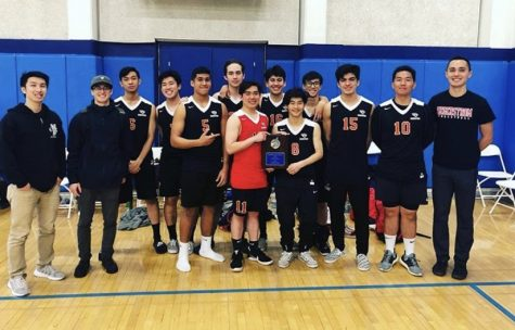 Picture of the Varsity team from the 2018-2019 season after a victorious tournament. Photo courtesy of: Instagram