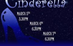 Information regarding showtimes for Cinderella. Photo courtesy of: segatheater.com