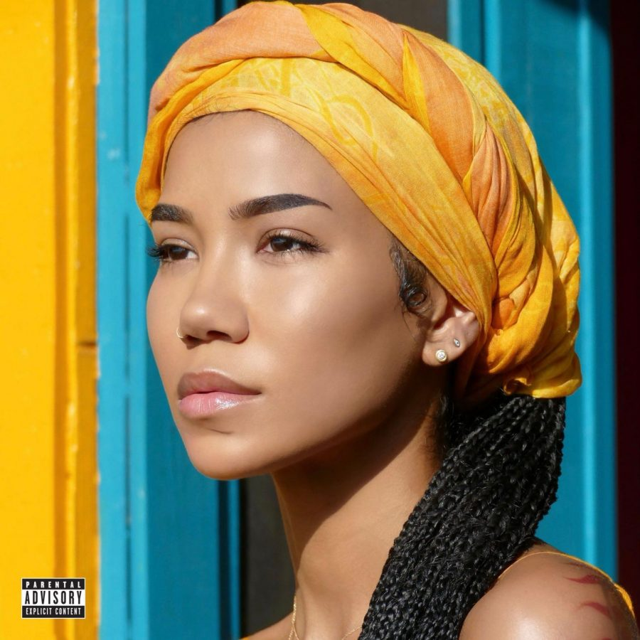"Jhené Aiko ""Chilombo"" album photoshoot. Photo courtesy of: Consequence of sound"