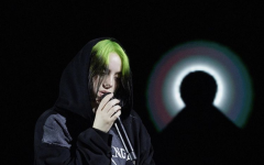 Billie Eilish performs at recent live stream performance rehearsal.  Photo Courtesy of: @kennethcappello on Instagram