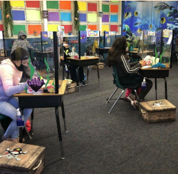 Students work diligently at this learning lab in Santa Ana. Photo Courtesy of: Santa Ana