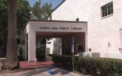 Santa Ana Public Library opening for students living in the Santa Ana area.