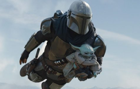 The dynamic duo of The Mandalorian and Baby Yoda  Photo courtesy of: NME