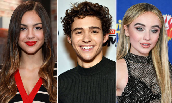 Olivia Rodrigo, Joshua Bassett, and Sabrina Carpenter all former Disney stars are now involved in a love triangle. Photo courtesy: Getty
