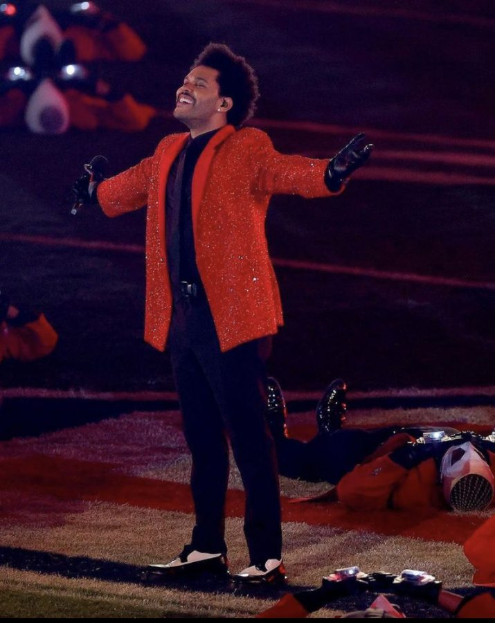 The+weeknd+in+the+middle+of+the+field+at+the+end+of+his+performance+for+the+super+bowl+halftime+show+%0APhoto+courtesy+%3A+The+Weeknd+instagram+%40theweeknd+with+the+caption+of+%E2%80%9Cstill+buzzing+from+last+night.+I+couldn%E2%80%99t+stop+smiling+the+whole+performance.+Thank+you+%40pepsi+%40NFL+%40RocNation+for+believing+in+me+to+bring+a+fresh+new+take+on+the+halftime+show+XO+we+did+it%21%E2%80%9D%0A