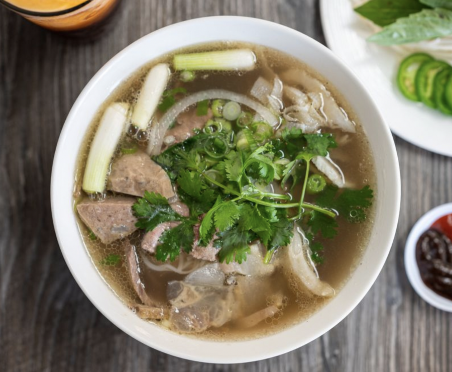 A bowl of Chicken Pho from My Pho. Photo courtesy of: Yelp