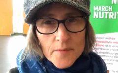 Kadie Karen Diekmeyer, known as the Vegan Teacher on TikTok, looks into the camera. Photo Courtesy of: Amy Buxton