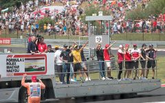 A Drivers' parade going around the Hungarian Grand Prix during the 2019 season. Photo Courtesy of: Michal Obrochta