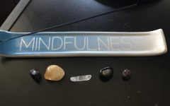 Crystals and incense, a way of cleansing your crystals. (Photo Courtesy of: Esmeralda Rodriguez)