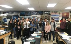 A picture of Mr. Pfeifer with his students. Photo courtesy of: Thomas Pfeifer