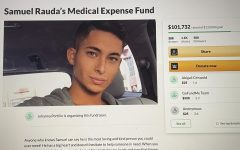 Samuel Rauda's GoFundMe for his medical bills