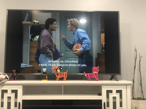 Segerstrom students are finally able to watch Saved By The Bell on Netflix from home. (Image courtesy of Alondra Cifuentes)